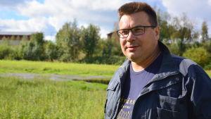 Niklas Sjöskog, jordbrukare i Pedersöre.