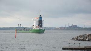 SSAB:s hamn i Lappvik stängs.