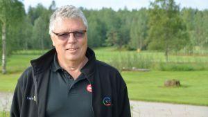 Virvik golfs kontorschef Esko Hällfors.