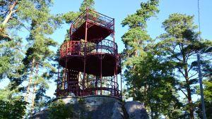 Kuckostenens utsiktstorn i Lovisa.