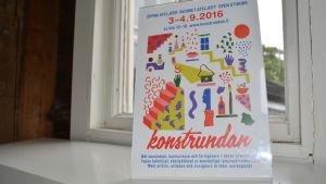 Affisch för Konstrundan 2016
