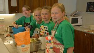 4H:s matskola i Pargas