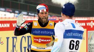Martin Johnsrud Sundby, Matti Heikkinen.