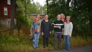 Konstnärerna Micaela Lappalainen, Ann Pelanne, Jan Lappalainen, Viviann Seege och Pia Westerberg deltar i Konstrundan.
