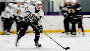 Joona Koppanen deltog i Bruins utvecklingsläger sommaren 2016.