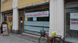 Pop-up ungdomslokalen i köpcentret Hansa