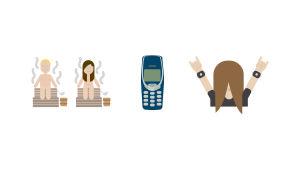 En bild av emojin.