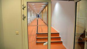 korridor i lyceiparkens skola i borgå