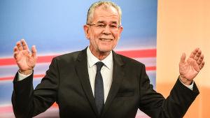 Alexander Van der Bellen valdes till Österrikes president den 4 december 2016.