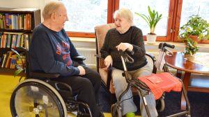 Joachim Heidenreich och Iris Gröndahl.