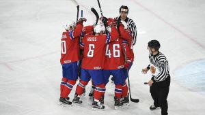Norges hockeylandslag.