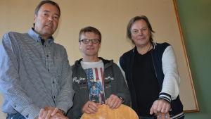 Hasse Bergström, Tomas Fant och Jan Jacobson
