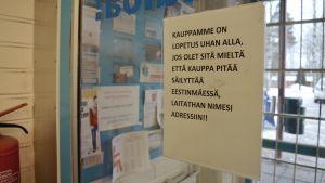 namninsamling mot stängning av siwa i estbacka