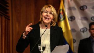 Luisa Ortega är Venezuelas riksåklagare.