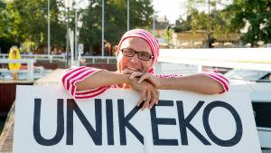 Årets sjusovare 2014 Kari Vuola.