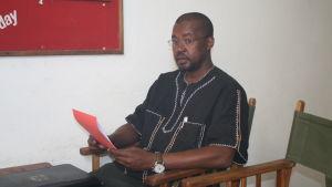 Ayub Rioba föreläser i medieforskning vid universitetet i Dar es Salaam i Tanzania.