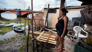 Gravid kvinna i Brasilien