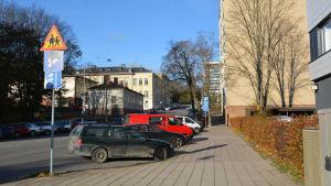 Smedsgatan i Åbo.