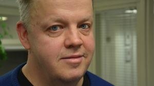 Timo Hautalampi i närbild.