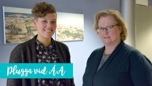 Charlotta Rosenberg och Lena Marander-Eklund