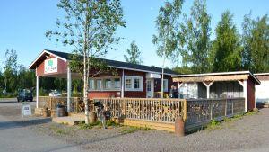 Café Sibbe i Sibboviken.