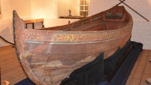 Slup från slaget vid Narva 1700.