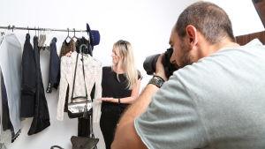 Freja Lindeman upplever den italienska modevärlden.