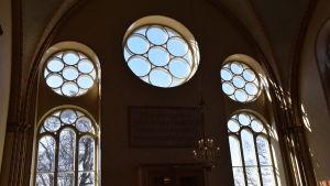 Diakonissanstaltens kyrka i Helsingfors.