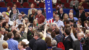 Ett antal republikanska delegater försökte sätta stopp för Donald Trumps presidentkandidat.