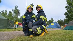 Julia Karlsson och Vilma Sjöström