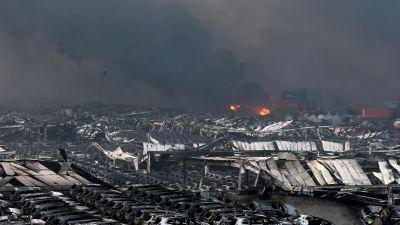 30 000 hus forstorda i kinesiskt jordskalv
