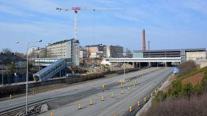 Här byggs det nya T3-sjukhuset.
