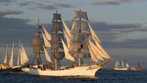Tall ships race med Sorlandet från Norge
