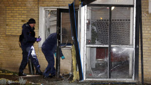 Ett fastighetskontor i stadsdelen Rosengård i Malmö utsattes för ett sprängdåd den 21 december 2014.
