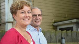 Jenny Fabritius och Kent Gustafsson berättade om Tenaladagen 2015.