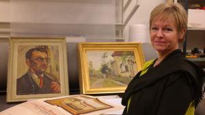 Konstvetaren Anne-Lie Haglund