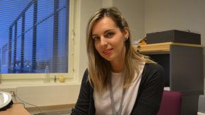 Blanka Simidzija, biträdande inspektör på Migrationsverkets enhet i Vasa.