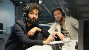 Soran Ismail och Magnus Betnér