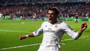 Gareth Bale segerskytt när Real Madrid vann Champions League.