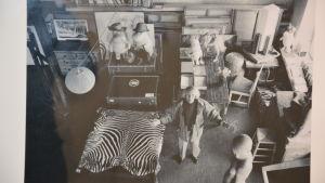 Bild från Tove 100-utställningen på Galleri Fokus i Karis