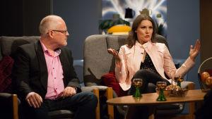 David Lindström och Marika Krook.