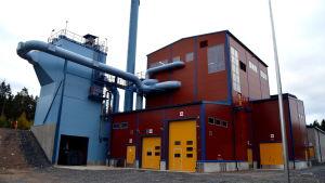 kraftverk som producerar fjärrvärme