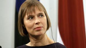 Estlands president Kersti Kaljulaid