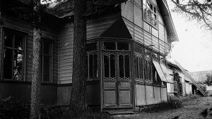 Södergranin talo Raivolassa.