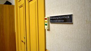 Efter att Marlene Svens sa upp sig saknar Kaskö stadsdirektör.
