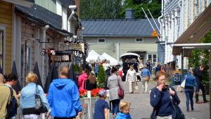 turister i Borgå