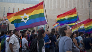 Prideparad i Jerusalem.