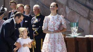 Prinsessan Victorias 40-årsfestligheter i Stockholm den 14 juli 2017.