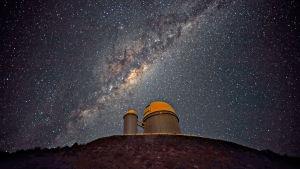 Det markbaserade ESO-teleskopet i Chile.