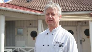 Kjell Gustafsson är ny värd i gästhamnen i Pargas